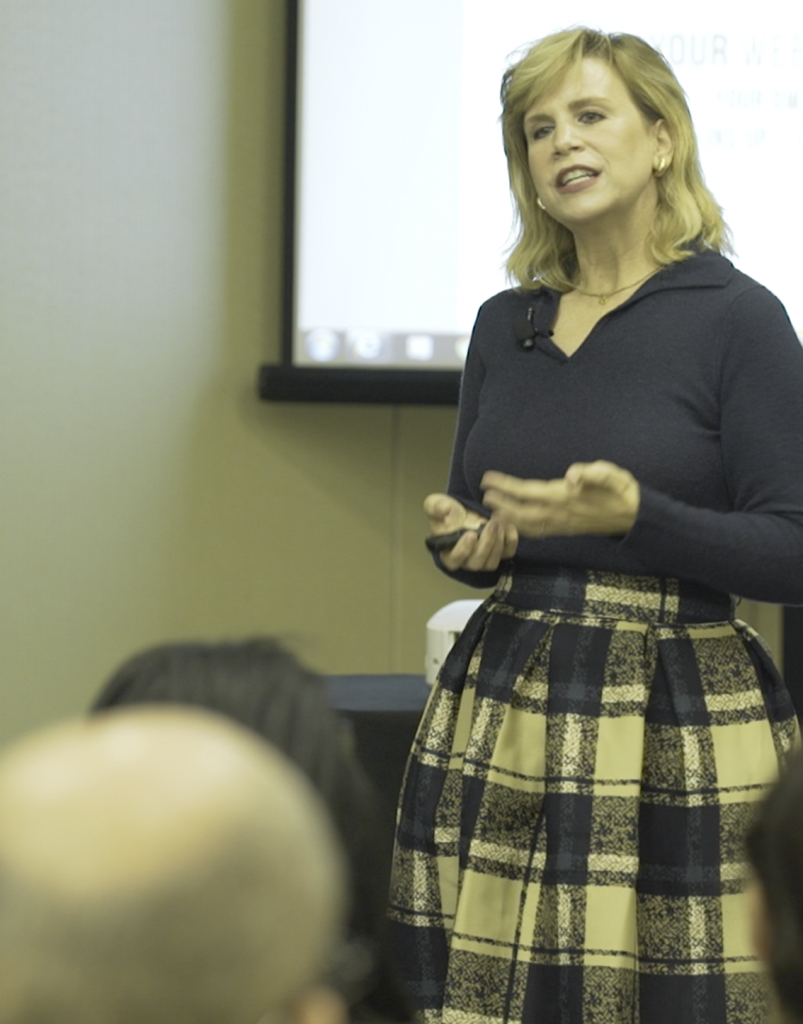 Irene connects with audiences